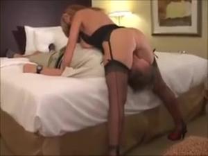 Upskirt orgasm creampie bareback